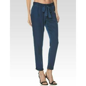 NEW PAIGE Sonora Crop Pant in Arbor Blue